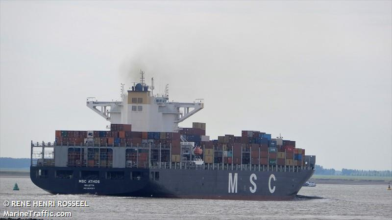Photos of: MSC ATHOS