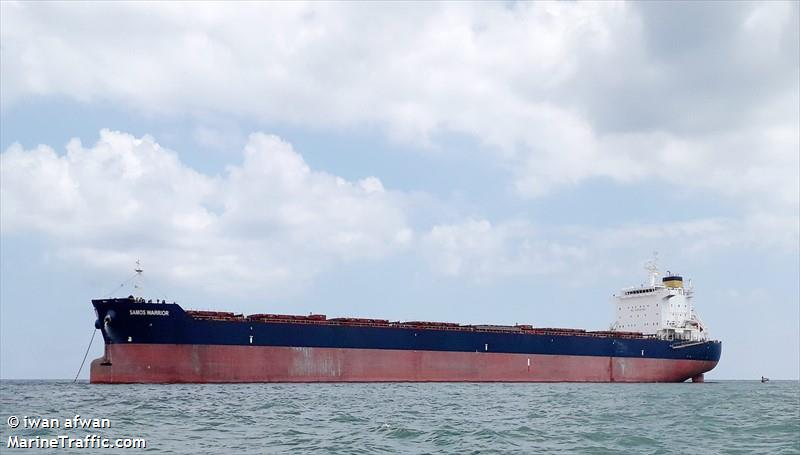 Samos Warrior Bulk Carrier Registered In Greece Vessel Details Current Position And Voyage Information Imo 9579626 Mmsi 241334000 Call Sign Svca2 Ais Marine Traffic