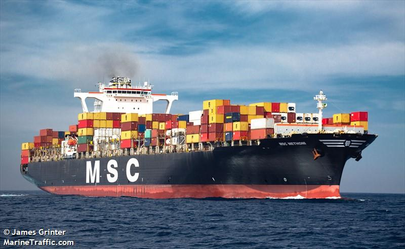 Photos of: MSC METHONI
