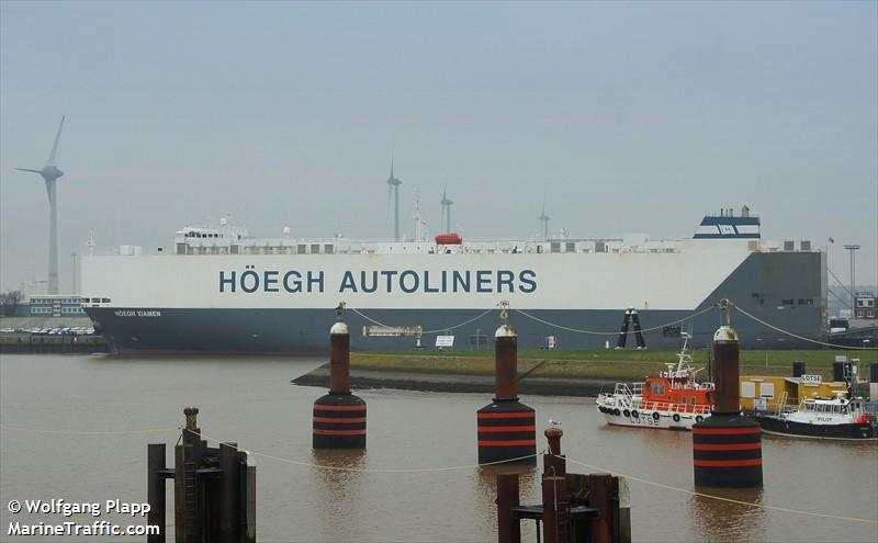 Photos of: HOEGH XIAMEN