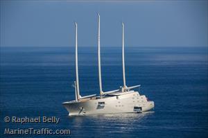 Sailing Yacht A >> Sailing Yacht A Houseboat Imo 1012141 Mmsi 310763000