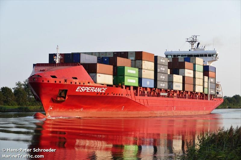 Esperance Container Ship Registered In Netherlands Vessel Details Current Position And Voyage Information Imo 9491484 Mmsi 244265000 Call Sign Pbez Ais Marine Traffic