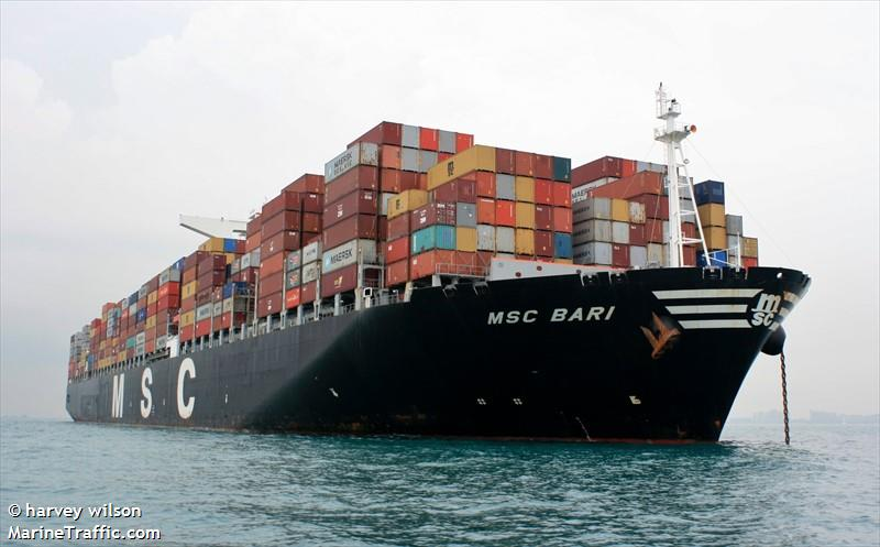 Photos of: MSC BARI