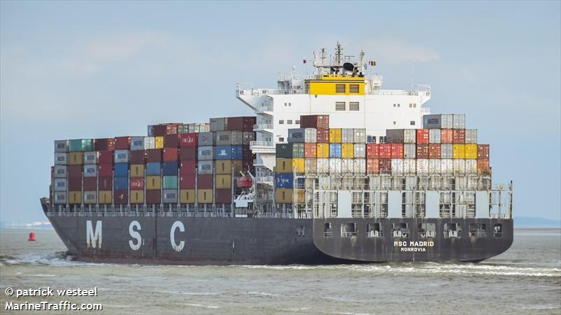 Photos of: MSC MADRID
